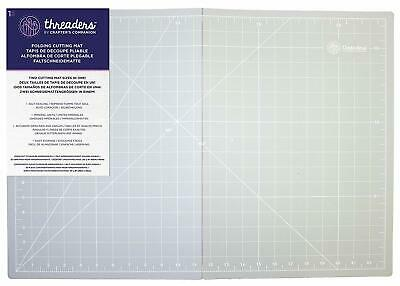 Crafters Companion Threaders A2/A3 Folding Cutting Mat 2 Sizes In 1 Self Healing