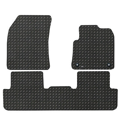 For Citroen DS7 2017+ Fully Tailored 3 Piece Rubber Car Mat Set