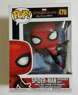 Funko Pop! Spider-Man Far From Home - #470 - Spider-man (Upgraded Suit)