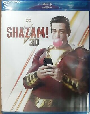 Shazam ! 2019 (Blu-ray 3D + Blu-ray) (2-Disc) (Region Free) (Special Features)