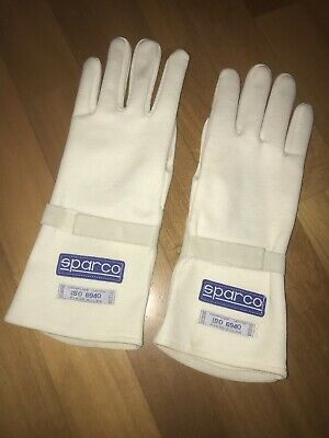 Sparco Nomex Rallye and Endurance Racing Gloves Vintage