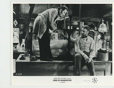 CURSE OF FRANKENSTEIN R1964 Hammer Films #43 Cushing, Urquhart fantasy horror