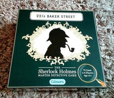 Gibsons 221B Baker Street Expansion Pack 50 New Cases