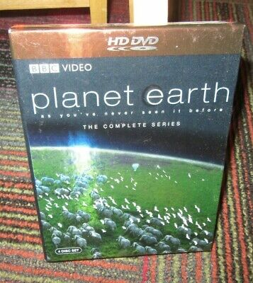 Planet Earth - The Complete Series 4-Disc Hd-Dvd Set, Bbc Video, 200 Locations