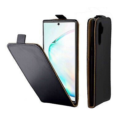 Vertical UP down Flip Leather Case For Samsung Note 10 + 9 8 S10 5G S10e S9 S8 +