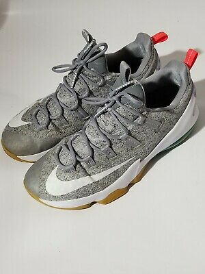 c9f10c81d411a Nike Lebron XIII 13 Low Summer Pack Shoes Stealth White Teal 831925 016 Sz  12.5