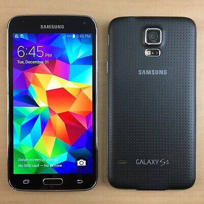 SAMSUNG Galaxy S5 G900 16GB Smartphone AT&T T-Mobile, U.S. Cellular, Verizon