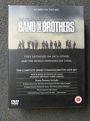 Band Of Brothers Dvd The Complete Series Commemorative Gift Set