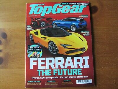 BBC Top Gear Magazine July 2019 LATEST ISSUE BRAND NEW UNREAD