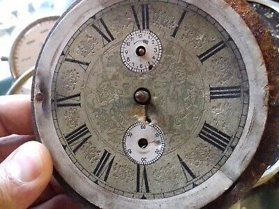 6 Vintage Antique Alarm Clocks Parts Or Repair