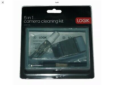 LOGIK 5 in 1 camera cleaning KIT( cleaning Pen,Cloth,Liquid,Tissues,Brush) NEW!!