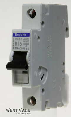 Doepke 20A SP MCB Miniature Circuit Breaker