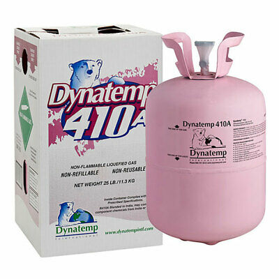 R410a R-410a Refrigerant 25 LB New Factory Sealed *LOWEST PRICE*