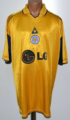 Leicester City England 2002/2003 Away Football Shirt Jersey Le Coq Sportif