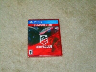 Driveclub....ps4....****Sealed***Brand New****!!!!!!!!