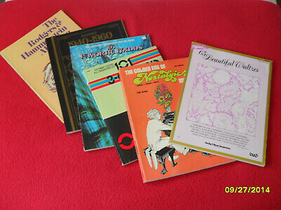 Lot of 6 Older ORGAN Sheet Music..Nsotagia Vol 3, 3 Chord Pieces, Hymns..Exc!!!