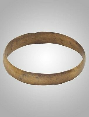 Authentic Ancient Viking Wedding Band Ring Size 10 1/4 (20mm)(Brr1016)
