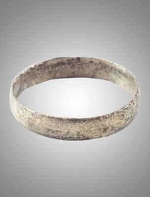 Ancient Viking  wedding Ring Band  C.866-1067A.D. Size 7 1/2 (18.1mm)(Brr1158)