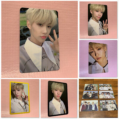STRAY KIDS FELIX Official QR PHOTOCARD Clé 2:Yellow Wood Limited Ver. Photo Card