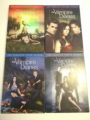 The Vampire Diaries Season 1-4 Complete DVD