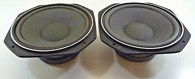 """2 Fostex FW250 10"""" Woofers from RM865 Speakers - Tests Good!"""