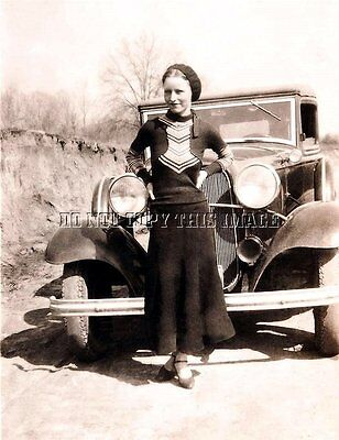 Repro 1930'S 8X10 Photo Bonnie Parker Of Famed Bonnie And Clyde Gang