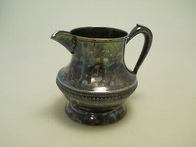 Glastonbury Silver Plate 300 Creamer Pitcher Vintage Shipping Included