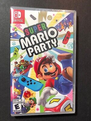Super Mario Party (Nintendo Switch) NEW