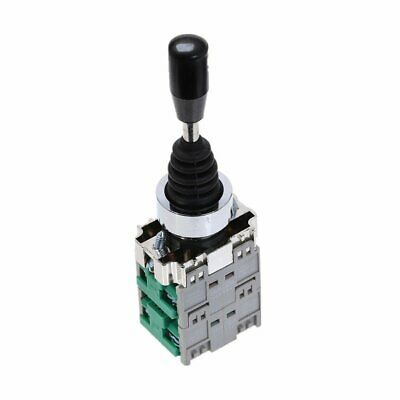 Momentary 4 Normal Open 22mm Fixing Hole Joystick Switch AC 400V 10A