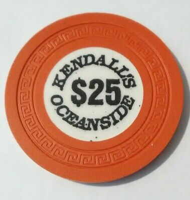 Kendalls Oceanside Casino Russia? $25.00 Chip Great For Any Collection!