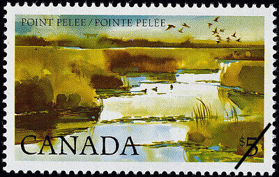 1983 Canada $5 Stamps #937 Mint Sealed Set Of 4 Inscription Blocks Point Pelee