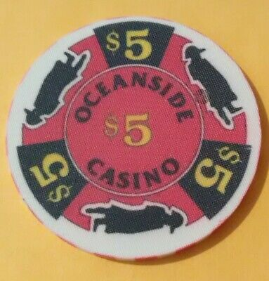 Oceanside Casino Russia? $5.00 Gaming Chip Great For Any Collection!