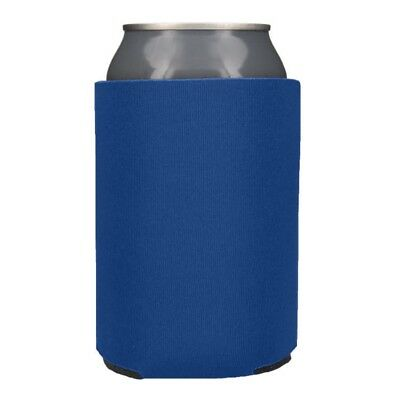 Royal Blue Can & Bottle Insulators 25 Blank Foam Can Coolers Coolies Koozies