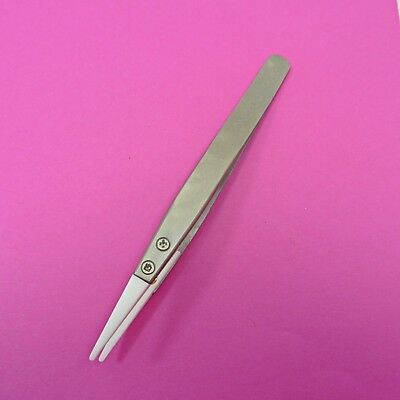 CR249 Precise Ceramic Tweezers ONLYOU Stainless Steel Anti-Static Professional