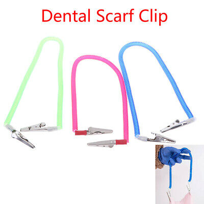 Dental Scarf Napkin Clip Holder Dentistry Material Napkin Holders Dental ToolsY