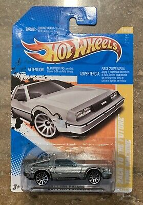Hot Wheels Back to the Future Delorean [Time Machine] BTTF - New + Sealed