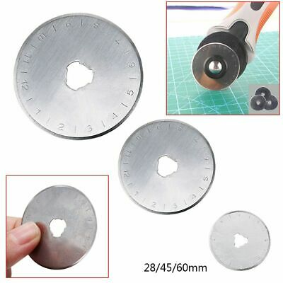Cut Off Patchwork Crafts Steel Circular Rotary Cutter Blades Home Sewing Tools