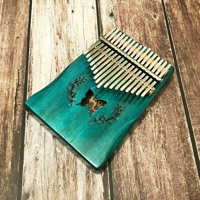 17-Key EQ Kalimba Thumb Piano Wooden Finger Musical Instrument Toy Learning Gift
