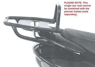 Yamaha XT 500 (Until 1985) Pipe Luggage Rack / Topcase Carrier Black BY H&B