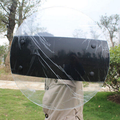 Transparent PC Clear Police CS SWAT Anti-Riot Shield Tactical Security Tool