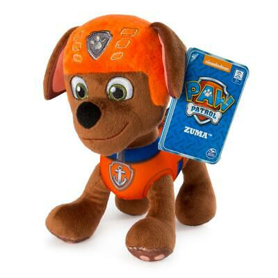 NEW Nickelodeon PAW Patrol Pup Puppy Dog Plush Soft Toy Kids Character Gift Zuma