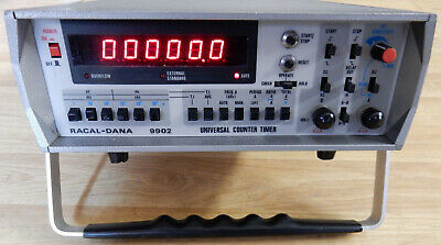 RACAL-DANA 9902 UNIVERSAL COUNTER TIMER, 50MHz.OPTION 04C. TESTED WORKING.