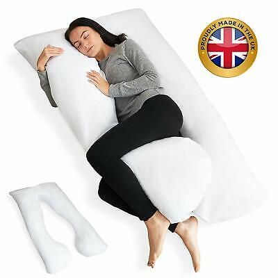 12Ft U Shaped Pillow Cover Pregnancy Maternity Nursing Pillow Full Body Support
