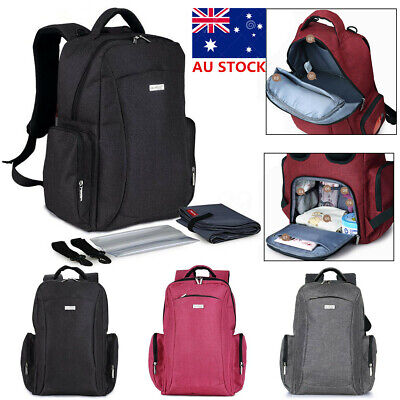 Multifunctional Women Large Baby Diaper Bag Mummy Travel Backpack Nappy Changing