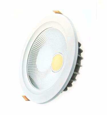Downlight Spot LED COB Rond 30W Ø195mm - Blanc Chaud 2300K - 3500K