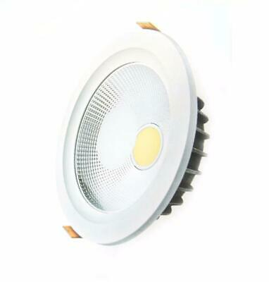 Downlight Spot LED COB Rond 40W Ø235mm - Blanc Chaud 2300K - 3500K