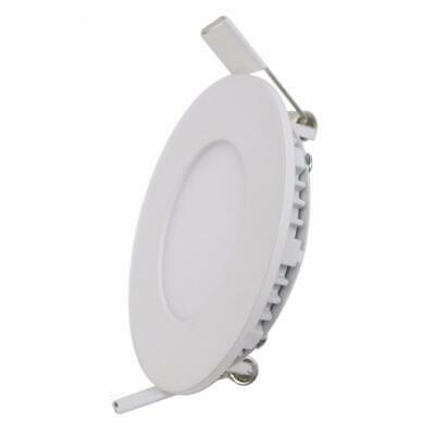 Downlight Dalle LED Extra Plate Ronde BLANC 12W - Blanc Froid 6000K - 8000K