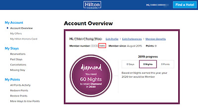 Hilton Honors Diamond Status Match Guide Package