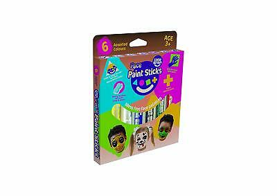 Little Brian LBFPS06CA6 Face Paint Sticks 6 Pack, Multi
