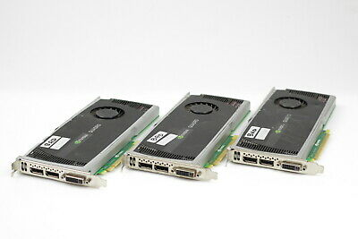 HP NVIDIA Quadro FX4000 2GB Video card DVI-I Display Port 608533-002